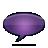 speech bubble violet Png Icon