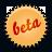 splash beta orange Png Icon