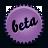 splash beta violet Png Icon