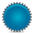 splash blue Png Icon