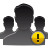 user group alert Png Icon
