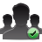 user group check Png Icon