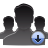 user group download Png Icon