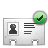 vcard check Png Icon