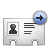 vcard forward Png Icon