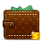 wallet louis vuitton money Png Icon