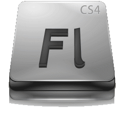 Adobe Flash CS 4 Gray