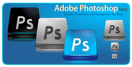 Preview Compatc Adobe Photoshop CS 4 by Dragon XP Icons