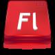 Adobe Flash CS 4 large png icon