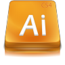 Adobe Illustrator CS 4 large png icon