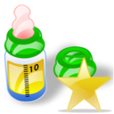 feeding bottle fav Png Icon