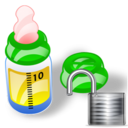 feeding bottle unlock Png Icon