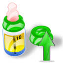 bottle up Png Icon