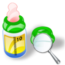 feeding bottle zoom Png Icon