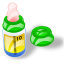 feeding bottle Png Icon