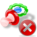 pacifier close Png Icon