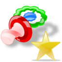 pacifier fav Png Icon