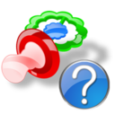pacifier help png icon