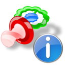 pacifier info Png Icon