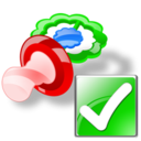pacifier ok Png Icon