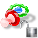 pacifier unlock Png Icon