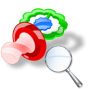 pacifier zoom Png Icon
