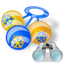 rattle search Png Icon