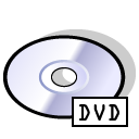 BeOS DVD Png Icon