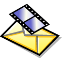 BeOS Video Message Png Icon
