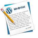 wordpress Png Icon