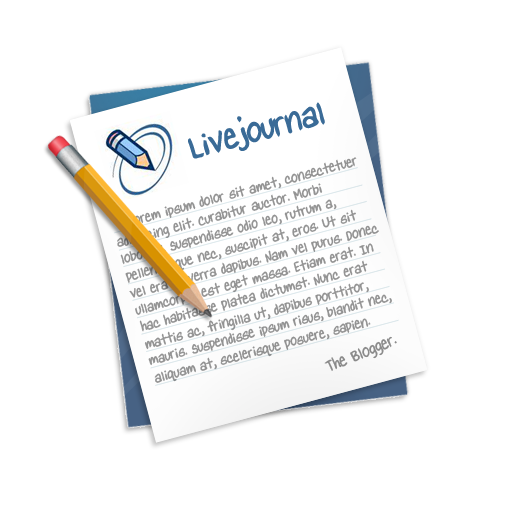 livejournal large png icon