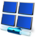 Blue memory 2 Icon 53 Png Icon