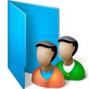 Blue memory 2 Icon 56 Png Icon