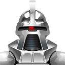 Cylon 1970s png icon