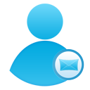 mail user large png icon