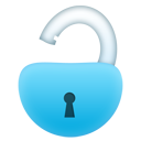 unlock large png icon