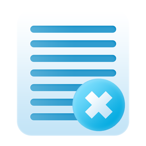 delete notes large png icon
