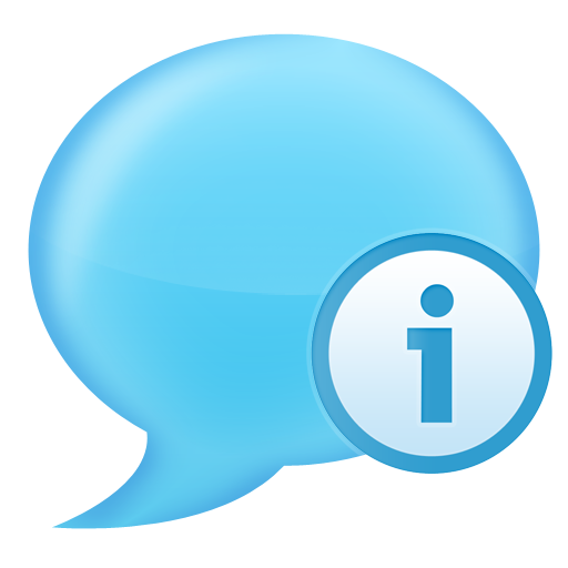 info chat large png icon