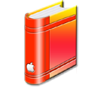 bookred png icon