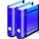 librarybleu png icon