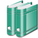 librarygreen png icon