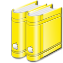 libraryyellow Png Icon