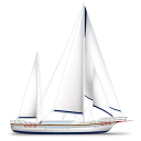 sailing Png Icon