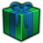 present large png icon