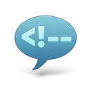 comment large png icon