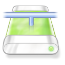 Drive Green Network Png Icon