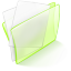 Dossier Green Papier large png icon