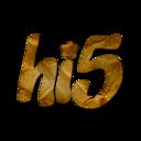hi 5 webtreatsetc Png Icon