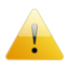 Attention large png icon