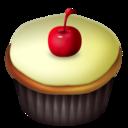 Cupcakes Cherry Vanilla png icon